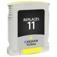Hewlett Packard HP C4838AN / HP 11 Yellow Replacement InkJet Cartridge