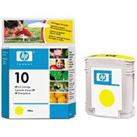 Hewlett Packard HP C4842A ( HP 10 Yellow ) Inkjet Cartridge