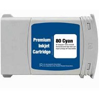 Hewlett Packard HP C4846A ( HP 80XL Cyan ) Remanufactured InkJet Cartridge