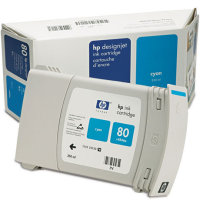 Hewlett Packard HP C4846A ( HP 80 ) High Capacity Cyan Inkjet Cartridge