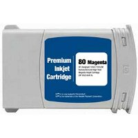 Hewlett Packard HP C4847A ( HP 80XL Magenta ) Remanufactured InkJet Cartridge