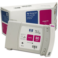 Hewlett Packard HP C4847A ( HP 80  ) High Capacity Magenta Inkjet Cartridge