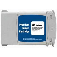 Hewlett Packard HP C4848A ( HP 80XL Yellow ) Remanufactured InkJet Cartridge