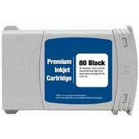 Hewlett Packard HP C4871A ( HP 80XL Black ) Remanufactured InkJet Cartridge