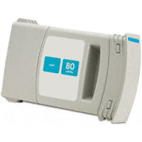 Hewlett Packard HP C4872A ( HP 80 Cyan ) Remanufactured InkJet Cartridge