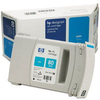 Hewlett Packard HP C4872A ( HP 80 ) Cyan Inkjet Cartridge