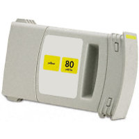Hewlett Packard HP C4873A ( HP 80 Yellow ) Remanufactured InkJet Cartridge