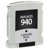 Hewlett Packard HP C4902AN / HP 940 Black Replacement InkJet Cartridge