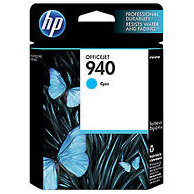 Hewlett Packard HP C4903AN ( HP 940 Cyan ) InkJet Cartridge