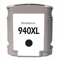 Hewlett Packard HP C4906AN ( HP 940XL Black ) Remanufactured InkJet Cartridge