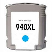 Hewlett Packard HP C4907AN ( HP 940XL Cyan ) Remanufactured InkJet Cartridge
