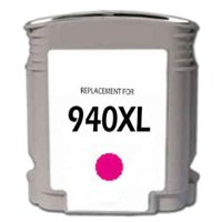 Hewlett Packard HP C4908AN ( HP 940XL Magenta ) Remanufactured InkJet Cartridge