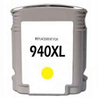 Hewlett Packard HP C4909AN ( HP 940XL Yellow ) Remanufactured InkJet Cartridge