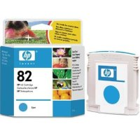 Hewlett Packard HP C4911A ( HP 82 cyan ) Inkjet Cartridge