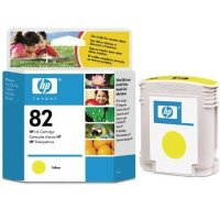 Hewlett Packard HP C4913A ( HP 82 yellow ) Inkjet Cartridge