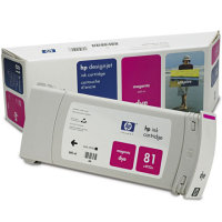 Hewlett Packard HP C4932A ( HP 81 ) Magenta Dye Inkjet Cartridge