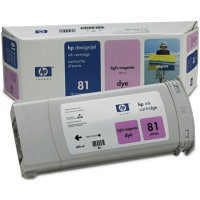 Hewlett Packard HP C4935A ( HP 81 ) Light Magenta Dye Inkjet Cartridge