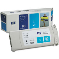 Hewlett Packard HP C4941A ( HP 83 ) Cyan UV Inkjet Cartridge