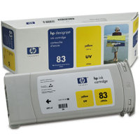 Hewlett Packard HP C4943A ( HP 83 ) Yellow UV Inkjet Cartridge