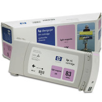 Hewlett Packard HP C4945A ( HP 83 ) Light Magenta UV InkJet Cartridge