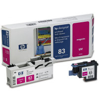 Hewlett Packard HP C4962A ( HP 83 ) Magenta Printhead InkJet Cartridge with Printhead cleaner