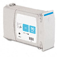 Hewlett Packard HP C5061A ( HP 90 Cyan High Capacity ) Remanufactured InkJet Cartridge