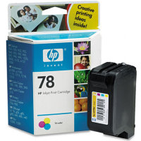 Hewlett Packard HP C6578D ( HP 78 ) Regular Tri-Color Inkjet Cartridges