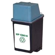 Hewlett Packard HP C6614A ( HP 20 ) Professionally Remanufactured Black Inkjet Cartridge