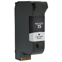 Remanufactured HP HP 15 ( C6615A ) Black Inkjet Cartridge (Made in North America; TAA Compliant)