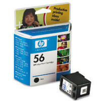 Hewlett Packard HP C6656AN / HP C6656A ( HP 56 ) Black Inkjet Cartridge