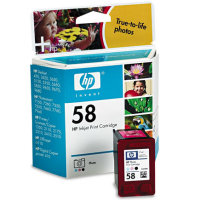 Hewlett Packard HP C6658AN ( HP 58 ) Photo Color Inkjet Cartridge
