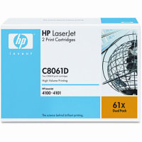 Hewlett Packard HP C8061D ( HP 61X ) Laser Toner Cartridges
