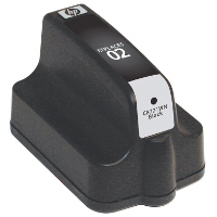 Hewlett Packard HP C8721WN / HP 02 Black Replacement InkJet Cartridge
