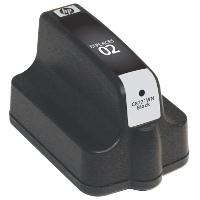 Hewlett Packard HP C8721WN / HP 02 Black Replacement InkJet Cartridge