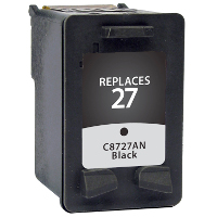 Hewlett Packard HP C8727AN / C8727A / HP 27 Replacement InkJet Cartridge