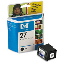 Hewlett Packard HP C8727AN / HP C8727A ( HP 27 ) Black Inkjet Cartridges