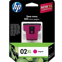 Hewlett Packard HP C8731WN / HP 02XL Magenta InkJet Cartridge