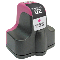 Hewlett Packard HP C8772WN / HP 02 Magenta Replacement InkJet Cartridge