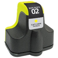 Hewlett Packard HP C8773WN / HP 02 Yellow Replacement InkJet Cartridge