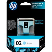 Hewlett Packard HP C8774WN ( HP 02 light cyan ) InkJet Cartridge