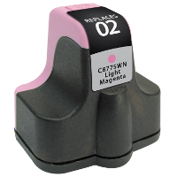 Hewlett Packard HP C8775WN / HP 02 Light Magenta Replacement InkJet Cartridge