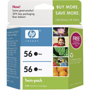 Hewlett Packard HP C9319FN ( HP 56 Twinpack ) InkJet Cartridge Twin Pack