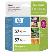Hewlett Packard HP C9320FN ( HP 57 Twinpack ) InkJet Cartridge Twin Pack