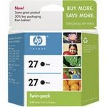 Hewlett Packard HP C9322FN ( HP 27 Twinpack ) InkJet Cartridge Twin Pack