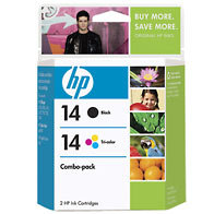 Hewlett Packard HP C9337FN ( HP 14 ) InkJet Cartridge Combo Pack