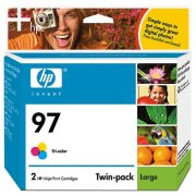 Hewlett Packard HP C9349FN ( HP 97 Twinpack ) InkJet Cartridge Twin Pack