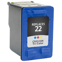 Hewlett Packard HP C9352AN / HP 22 Replacement InkJet Cartridge