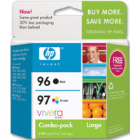 Hewlett Packard HP C9353FN ( HP 96/97 ) InkJet Cartridge Combo Pack