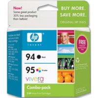 Hewlett Packard HP C9354FN ( HP 94/95 ) InkJet Cartridge Combo Pack