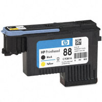 Hewlett Packard HP C9381A ( HP 88 Black/Yellow Printhead ) InkJet Printhead Cartridge